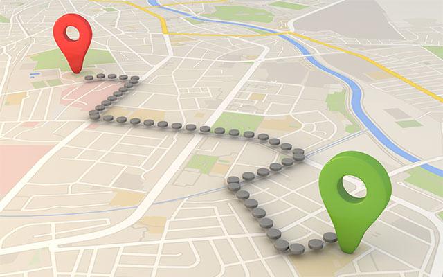 Wegbeschreibung zur Stadt-Apotheke